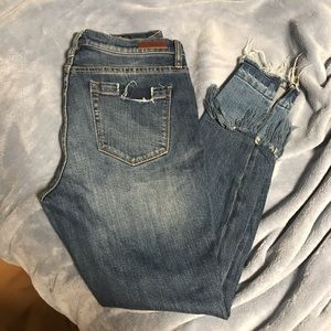 BLANK NYC    Jeans with Zipper